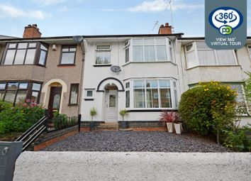 Thumbnail 5 bed terraced house for sale in Albany Road, Earlsdon, Coventry
