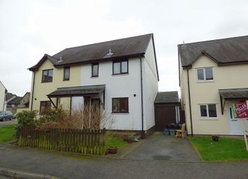 Thumbnail 3 bed semi-detached house for sale in Daucus Close, Tavistock