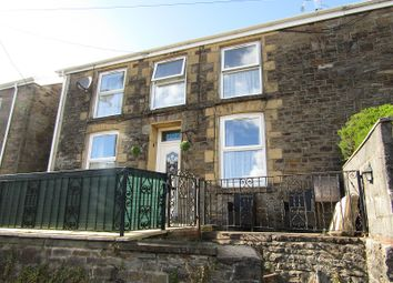 Thumbnail 3 bed semi-detached house for sale in Wern Road, Ystalyfera, Swansea.