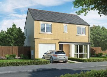 Thumbnail 4 bed detached house for sale in The Belsay, Stephenson Park, Newcastle Upon Tyne