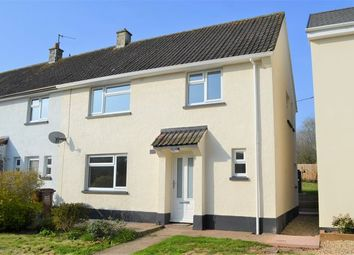 Thumbnail 3 bed end terrace house for sale in Huntersway, Culmstock, Cullompton