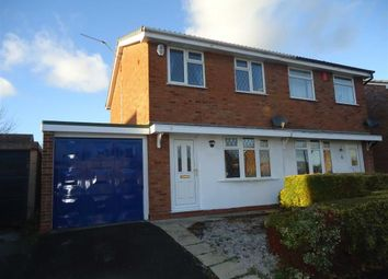 Thumbnail 2 bed semi-detached house for sale in Broadlands, Burton On Trent, Staffs
