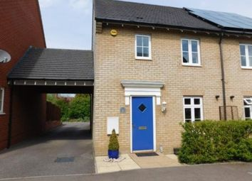 Thumbnail 3 bedroom semi-detached house to rent in Prince Charles Avenue, Stotfold, Hitchin