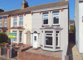 Thumbnail 3 bed terraced house for sale in Buckland Avenue, Dover, Kent, .