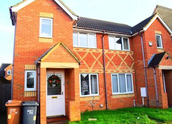 Thumbnail 3 bed semi-detached house to rent in Flinters Close, Wootton Fields, Northampton, 6Bh
