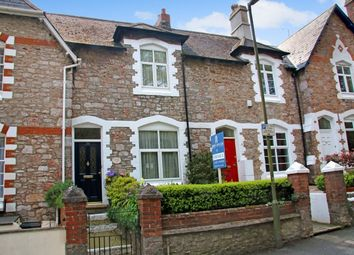 Thumbnail 3 bed terraced house for sale in Ilsham Road, Torquay