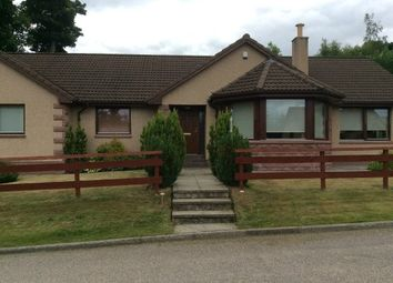 Thumbnail 4 bed detached bungalow to rent in Braes Of Allachie, Aberlour