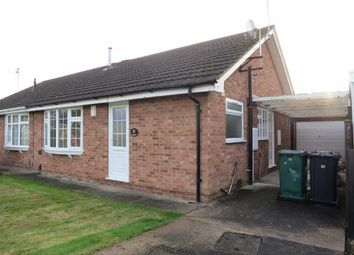 Thumbnail 2 bed semi-detached bungalow to rent in Lorimer Avenue, Gedling, Nottingham