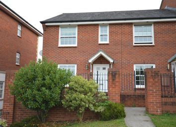 Thumbnail 3 bed semi-detached house to rent in The Buntings, Exminster, Exeter, Devon