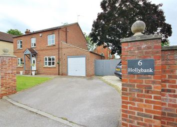 Thumbnail 3 bed detached house for sale in Chapel Close, North Duffield, Selby