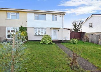 Thumbnail 3 bedroom semi-detached house for sale in Bourne Road, Gravesend, Kent