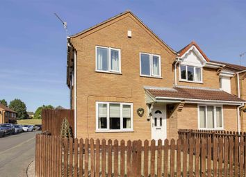 Thumbnail 3 bed semi-detached house for sale in Gothic Close, Basford, Nottinghamshire