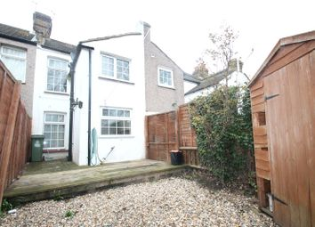 Thumbnail 2 bed terraced house to rent in Dover Road East, Gravesend, Kent