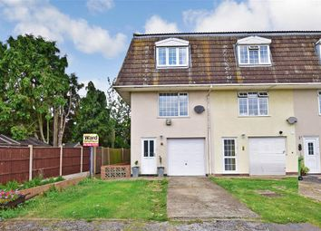 Thumbnail 2 bed town house for sale in Fieldview Close, Halfway, Sheerness, Kent