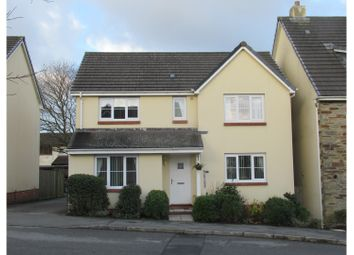 Thumbnail 4 bed detached house for sale in Gilbert Road, Bodmin