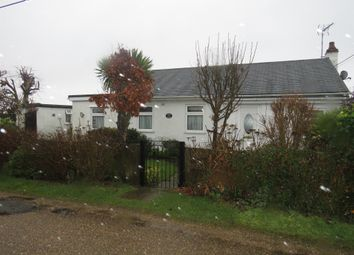 Thumbnail 2 bed detached bungalow for sale in Long Beach Estate, Hemsby, Great Yarmouth