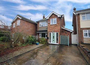 Thumbnail 3 bed detached house for sale in Castle Close, Calverton, Nottingham