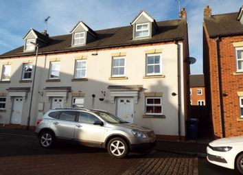 Thumbnail 3 bed town house to rent in Drovers Close, Uttoxeter