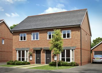 "Thumbnail 3 bed semi-detached house for sale in ""Hutchins"" at Hyde End Road, Spencers Wood, Reading"