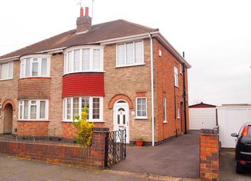 Thumbnail 3 bedroom semi-detached house for sale in Jean Drive, Leicester