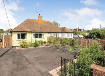 Thumbnail 2 bedroom semi-detached bungalow to rent in Faversham Road, Seasalter, Whitstable