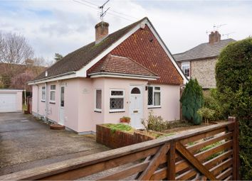 Thumbnail 2 bed detached bungalow for sale in Church Road, Chichester