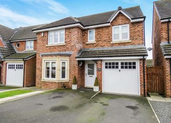 Thumbnail 4 bed detached house for sale in Tyelaw Court, Shilbottle, Northumberland