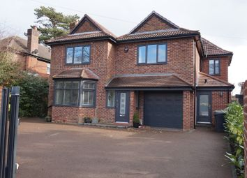 Thumbnail 4 bed detached house for sale in Knutsford Road, Wilmslow