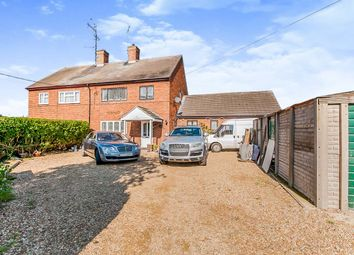 Thumbnail 3 bed semi-detached house for sale in Old Main Road, Fleet Hargate, Spalding