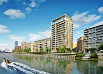 Thumbnail 3 bed flat for sale in Meridian Building, Royal Wharf, London