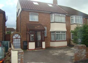 Thumbnail 4 bed semi-detached house for sale in Bexhill Close, Feltham