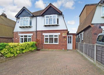Thumbnail 3 bed semi-detached house for sale in Hawthorne Avenue, Rainham, Gillingham, Kent
