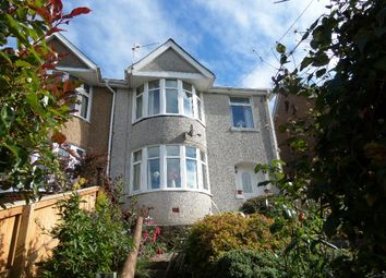 Thumbnail 3 bed semi-detached house for sale in Leigh Road, Pontnewynydd, Pontypool