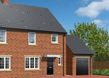 Thumbnail 3 bed semi-detached house for sale in 'the Meribel', Plot 9, Park View, Brierley, Barnsley
