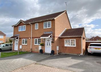 Thumbnail 2 bed semi-detached house for sale in Selwood Close, Weston-Super-Mare