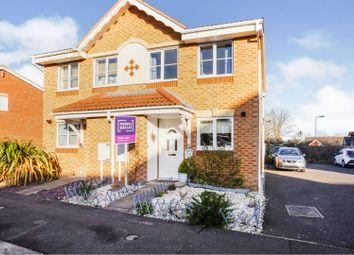 Thumbnail 2 bed semi-detached house for sale in Watling Close, Bracebridge Heath