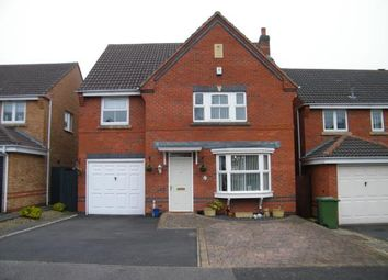 Thumbnail 4 bedroom detached house for sale in Bulrush Close, Brownhills, Walsall