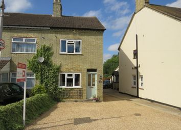 Thumbnail 2 bed end terrace house for sale in Hitchin Road, Stotfold, Hitchin Herts