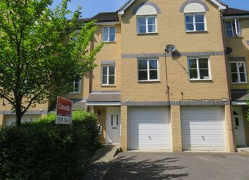 Thumbnail 3 bed town house for sale in Bertram Close, New Bradwell, Milton Keynes