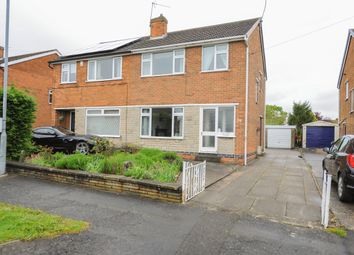 Thumbnail 3 bed semi-detached house for sale in St. Pauls Avenue, Hasland, Chesterfield