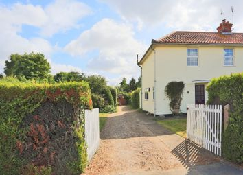 Thumbnail 3 bed semi-detached house for sale in Norfolk Road, Wangford, Beccles