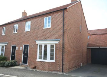 Thumbnail 3 bed semi-detached house to rent in Catchpin Street, Buckingham