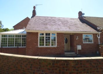 Thumbnail 2 bed bungalow to rent in St. Ebbas Way, Ebchester, Consett
