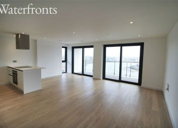 Thumbnail 3 bed flat for sale in Blackwall Way, London