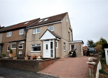 Thumbnail 4 bedroom end terrace house for sale in Lammermuir Drive, Paisley