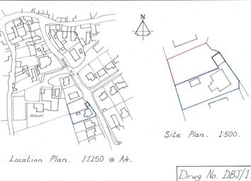 Thumbnail Land for sale in School Hill, St. Keverne, Helston
