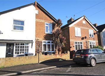 Thumbnail 2 bed semi-detached house for sale in Station Road, Chertsey, Surrey