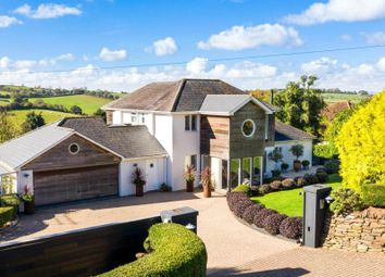 Thumbnail 4 bed detached house for sale in Ridge Road, Maidencombe, Torquay, Devon