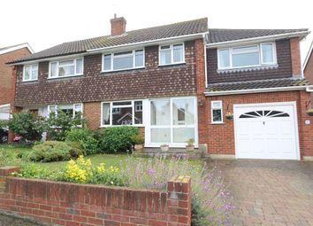 Thumbnail 5 bedroom semi-detached house for sale in Herbert Road, Hextable, Swanley, Kent