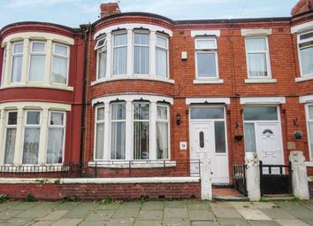 Thumbnail 3 bed terraced house for sale in Withington Road, Wallasey